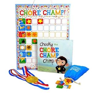 Chore Chart Set for Toddlers and Kids